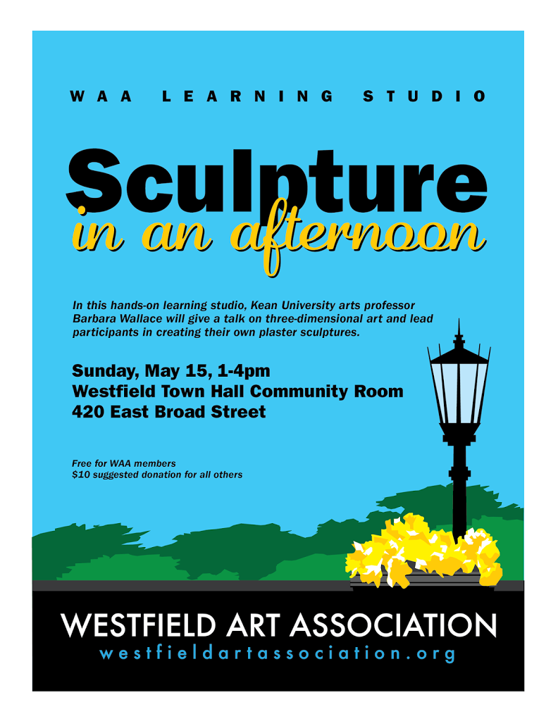 This Sunday's WAA Event: Sculpture in an Afternoon